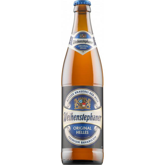 Пиво светлое фильтрованное пастеризованное Вайнштефан Оригинал Хеллес