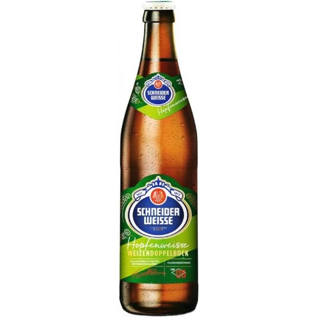 Пиво светлое нефильтрованное осветленное непастеризованное Шнайдер Вайсс ТАП 05 Майне ХопфенВайсс