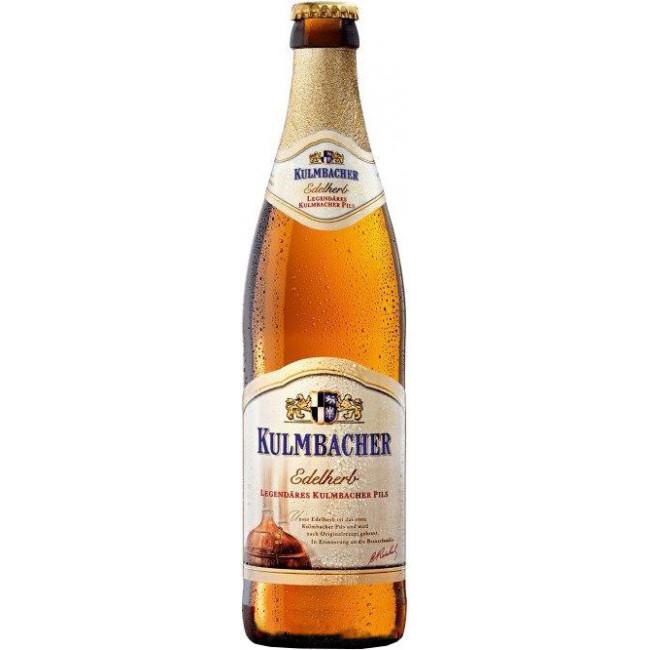 Пиво,, светлое, фильтрованное пастеризованное Кульмбахер Эдельхерб Премиум Пилс