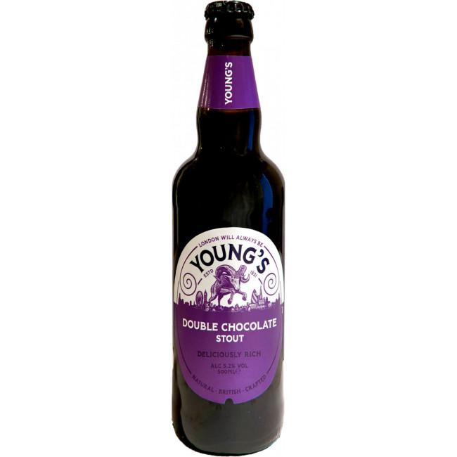 Пивной напиток Янгс Дабл Шоколад Стаут фильтрованный пастеризованный