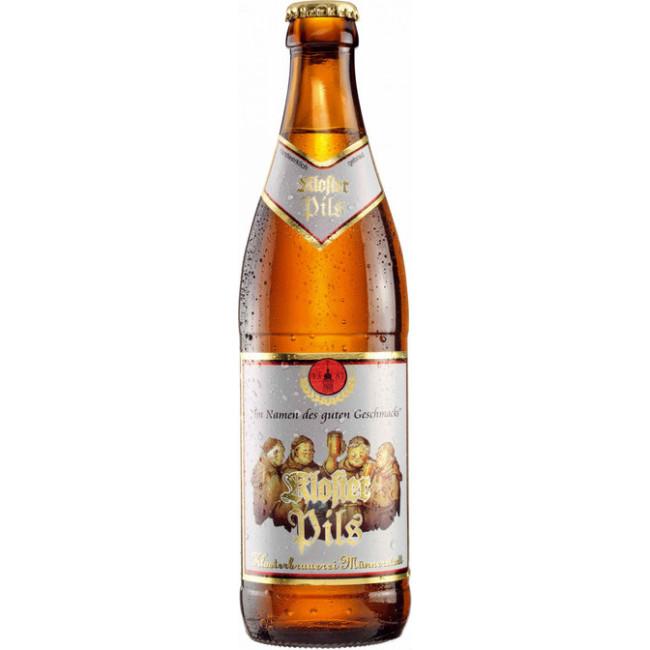 Пиво Клостер Пилс светлое фильтрованное пастеризованное