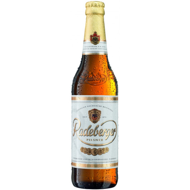 Пиво светлое непастеризованное фильтрованное Радебергер Пилснер