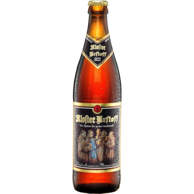 Пиво Клостер Урстофф светлое фильтрованное пастеризованное