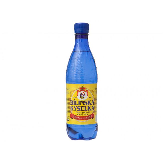 """Лечебно-столовая минеральная вода """"Билинская Киселька"""",  BHMW, Чехия, 0.5 л"""