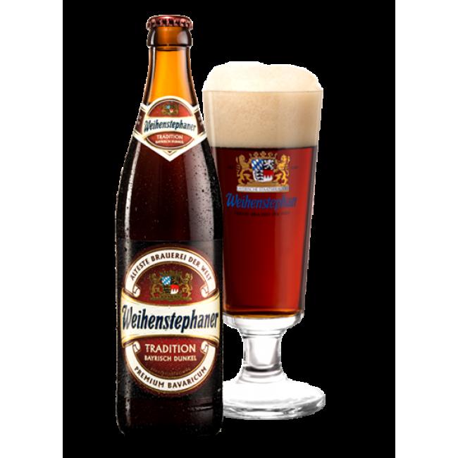Пиво темное фильтрованное пастеризованное Вайнштефан Традицион