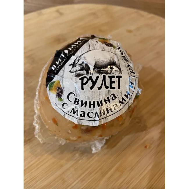 Рулет мясной Свинина с грушей и маслинами, Витамин, 320г