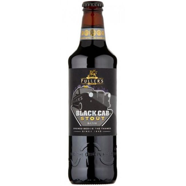 Пиво темное фильтрованное пастеризованное Фуллерс Лондон Блек Кеб Стаут