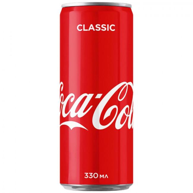 Газированный напиток Coca-Cola  Классик 0,33 л
