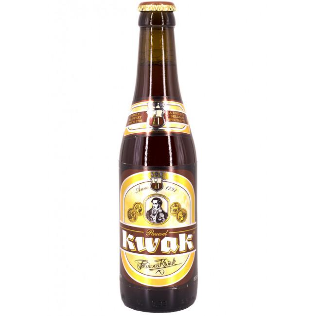 """Набор 0.33 + бокал Пиво """"Пауэль Квак""""  фильтрованное, пастеризованное"""