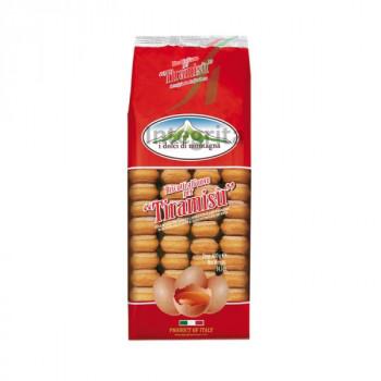 Печенье Савоярди сахарное для тирамису  ТМ  I dolci di montagna