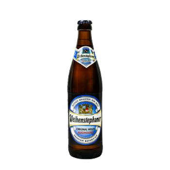 Пиво б/а св.фильтр. Вайнштефан  Оригинал Алкохольфрей 0.5л, Германия