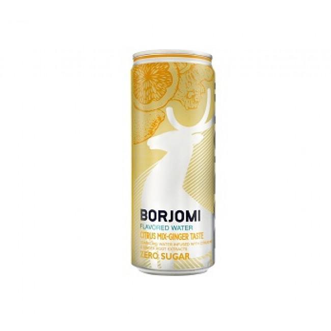Напиток Боржоми Цитрус и Имбирь, 0,33л, Грузия