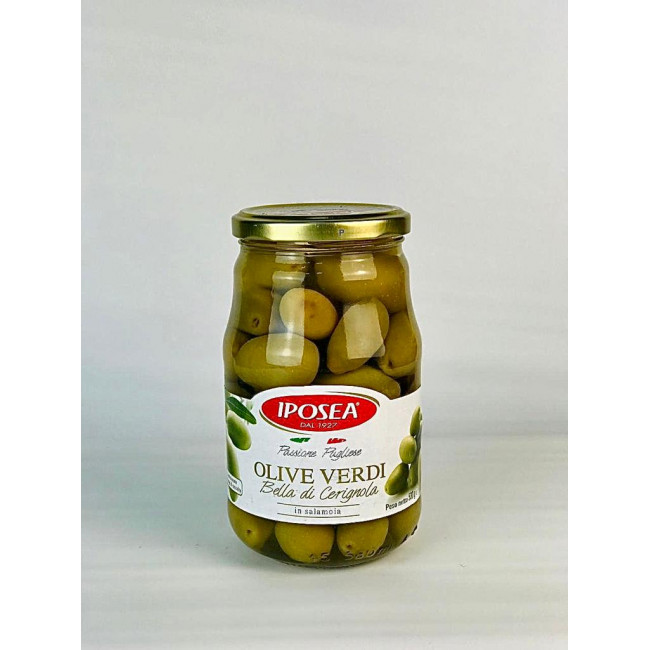Оливки Белла Чериньола