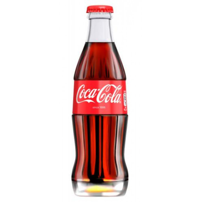 Напиток  Coca-Cola ст/б 0.33мл