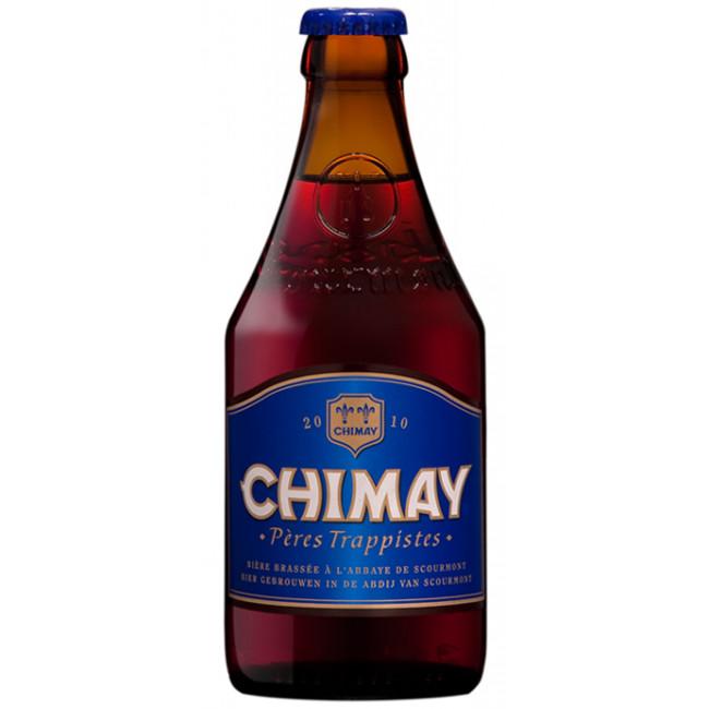 Пиво непастеризованное нефильтрованное неосветленное темное Шимэ Блю Кап бутылка