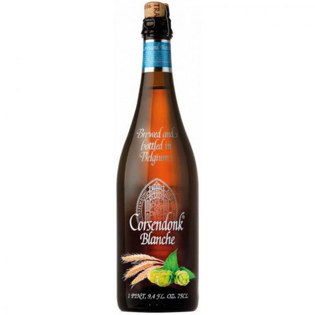 Пиво светлое нефильтрованное, пастеризованное «Корсендонк» Бланш