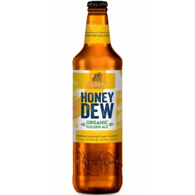 Пиво Фуллерс Органик Хани Дью светлое пастеризованное фильтрованное