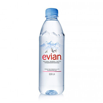 Вода мин. EVIAN ЭВИАН Престиж п/б, 0,5