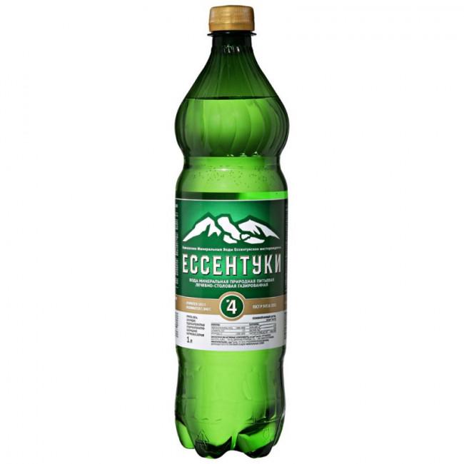 Вода мин. лечебно-столовая  Ессентуки  газ. пл.бут  1.5л.