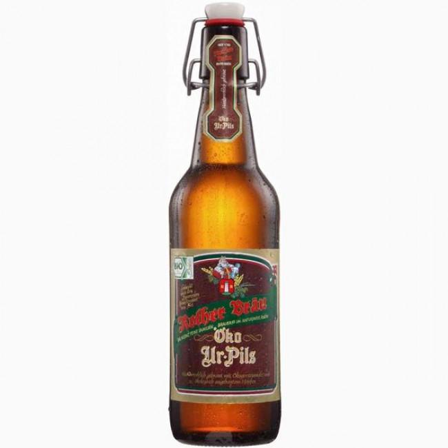 Пиво Ротхер Брау Око Ур-Пилс светлое фильтрованное пастеризованное