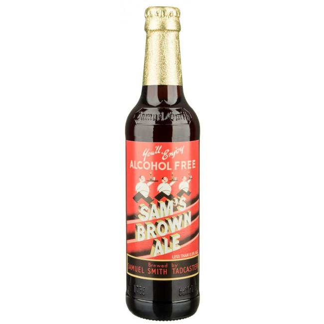 Пиво безалкогольное Sam's Brown Ale, Англия, 0,355л