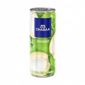 Напиток кокосовый с мякотью, ж/б CHABAA, 230мл