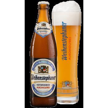 Пиво б/а св. не фильтр. Вайнштефан  Хефевайбир Алкохольфрей 0.5л, Германия