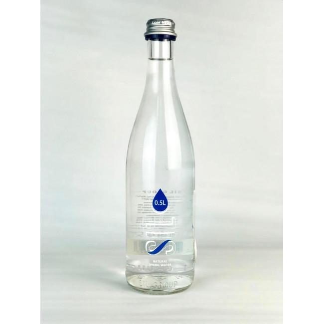 Вода родниковая Сил Аква ст.б 0,5 газ.