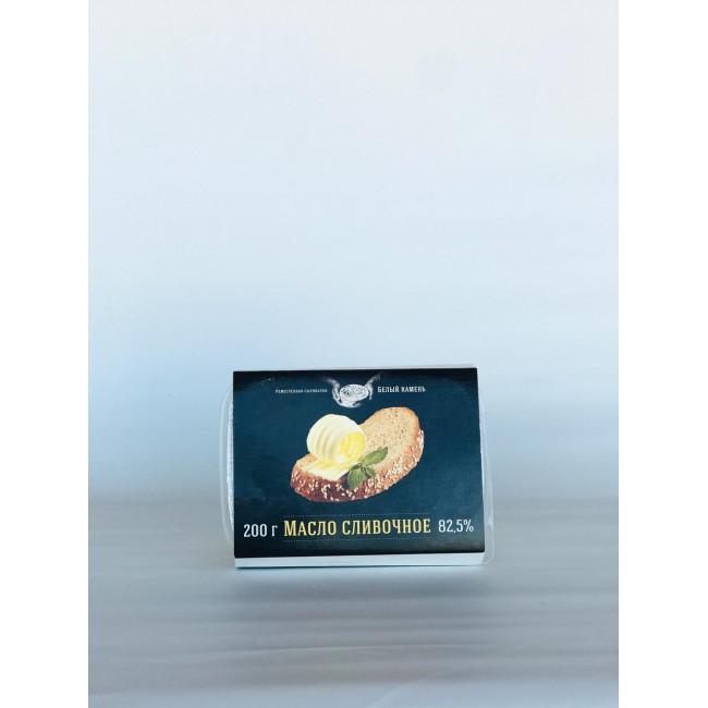 Масло сливочное традиционное, жирн.82,5%, Белый камень,Россия,