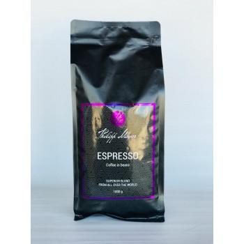 Кофе жаренный в зернах Philipp Mayer ЭСПРЕССО , 1кг
