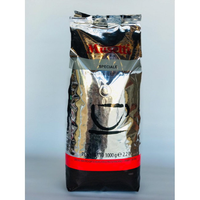 Кофе в зернах Musetti СПЕШЛ 1 кг.
