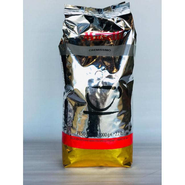 Кофе в зернах Musetti КРЕМИССИМО  1 кг.