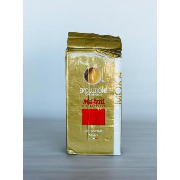 Кофе молотый Musetti ЭВОЛЮЦИОНЕ 100% 0,250г.