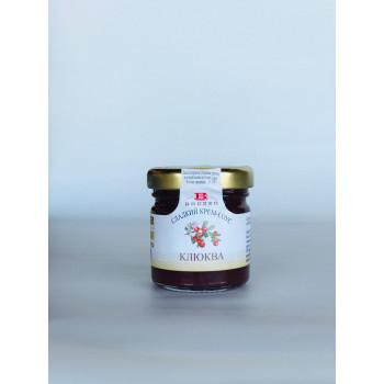 Сладкий крем-соус из клюквы, BREZZO, Италия, 40г.