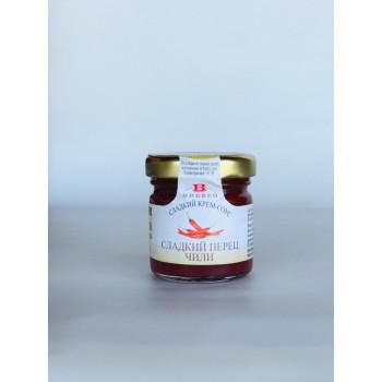Сладкий крем-соус из перца Чилли, BREZZO, Италия, 40г.