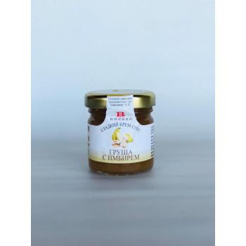 Сладкий крем-соус с грушей и имбирем, BREZZO, Италия, 40г.
