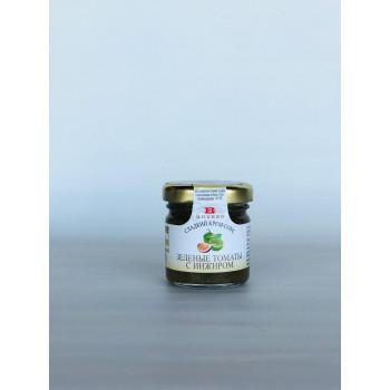 Сладкий крем-соус с зелёными томатами и инжиром, BREZZO, Италия, 40г.