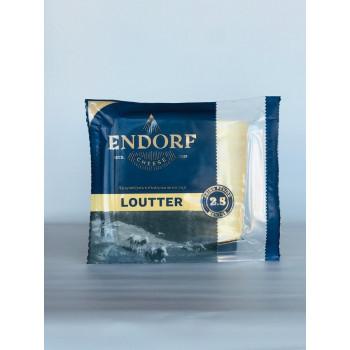 Сыр Лаутер полутвердый  т.м Эндорф 45% жир. 200 г.