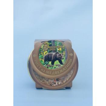 Риет из медвежатины с черносливом и коньяком, 200г. Деликатес Дичь