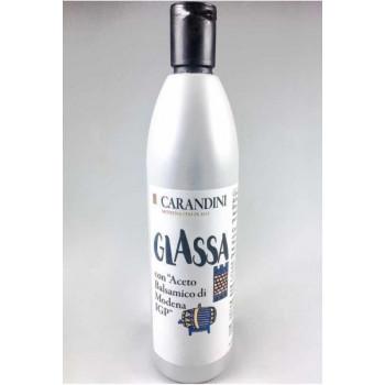 """Соус """"Glassa"""" с добавлением бальзамического уксуса Модены, 500 гр., Carandini"""