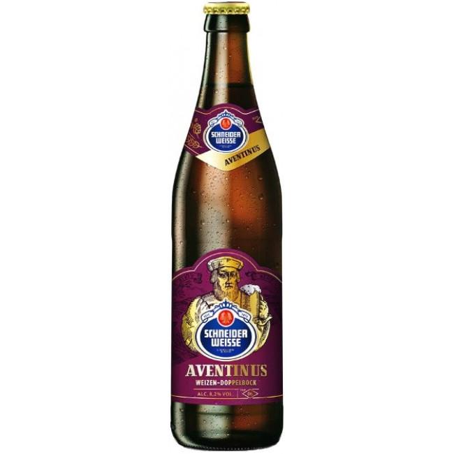 Пиво темное нефильтрованное неосветленное непастеризованное Шнайдер Вайсс ТАП 06 Майн Авентинус