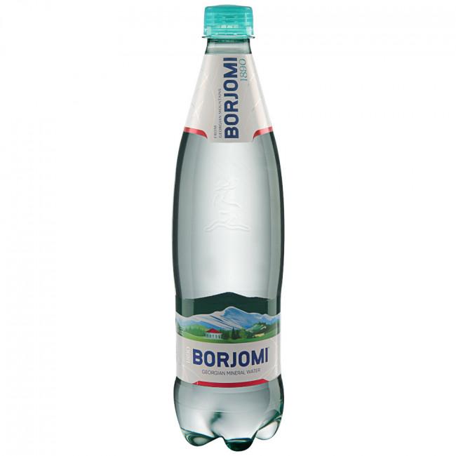 Вода мин. лечебно-столовая Боржоми газ. пл.бут  1,25л.