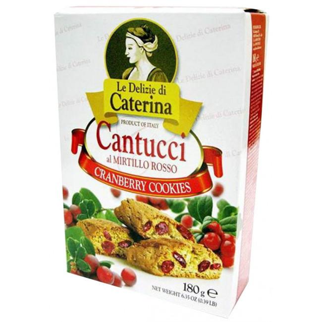 Печенье Le Delizie di Caterina Кантуччи с добавлением клюквы