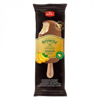 "Мороженое ""Фрумелье"" с бананом 15%. 80гр. Беларусь."
