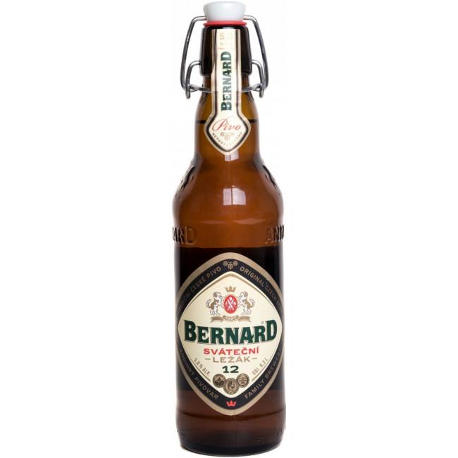"Пиво ""Bernard"" Svatecni Lezak, Сватечни Лежак 0.5 л (МПК)"
