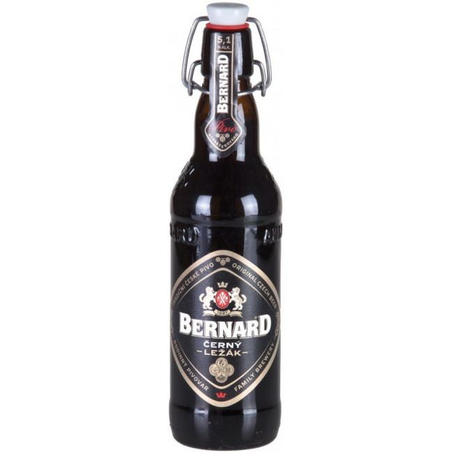 """Пиво """"Bernard"""" Cerny Lezak,  Бернард Черни Лежак 0.5 л"""