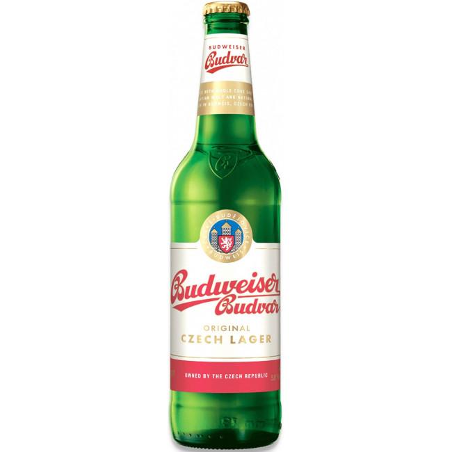 """Пиво """"Budweiser Budvar"""" Svetly Lezak, Будвайзер Будвар 0.5 л"""