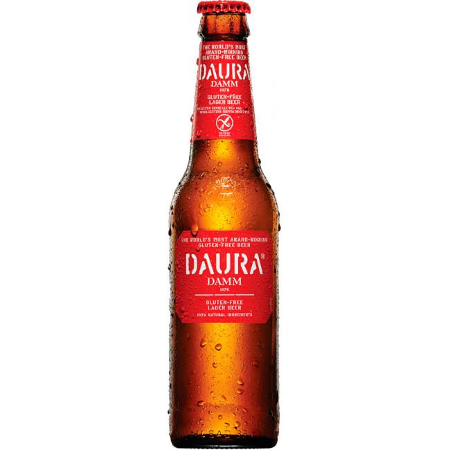 "Пиво ""Daura Damm"", Gluten Free, Даура Дамм 0.33 л"