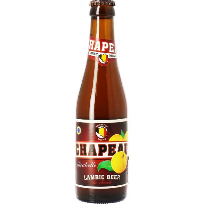 "Пиво ""Chapeau"" Mirabelle Lambic,  Слива Ламбик  0,25 л."