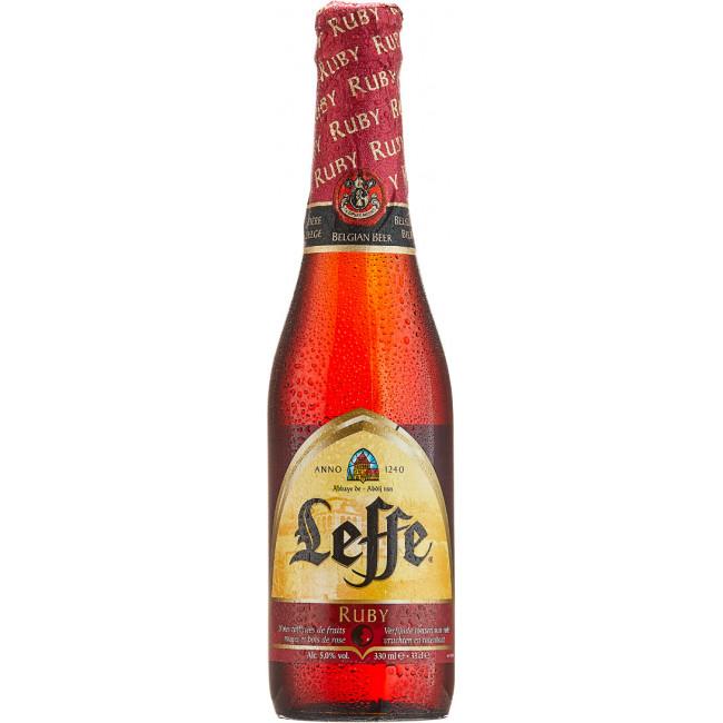 """Пиво """"Leffe Ruby"""" , """"Леффе Руби"""" 0,33 л"""